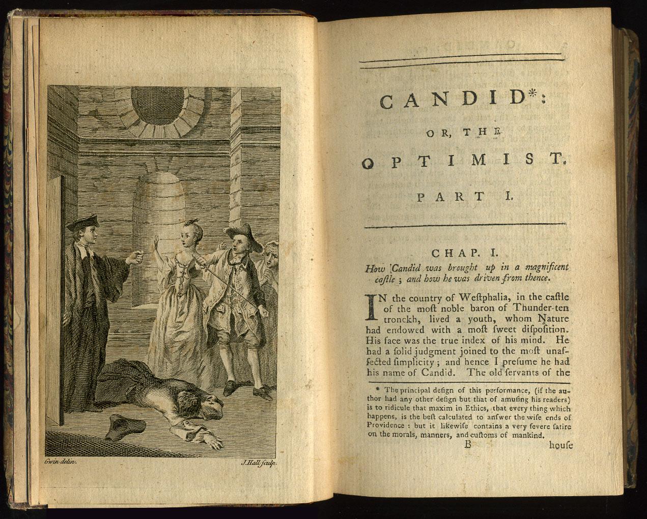 Resultado de imagem para Candido ou o Otimismo, Voltaire