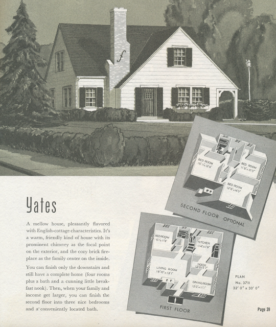 sears yates sears modern homes 1940 catalog