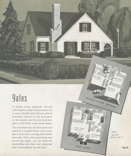 sears yates sears modern homes 1940 catalog