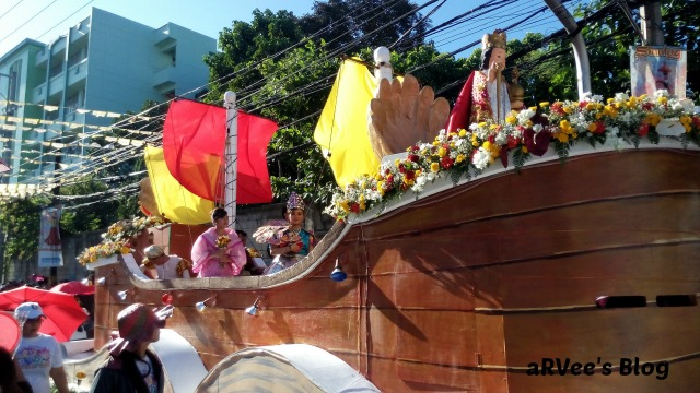 Float entry during Sinulog. IPI's float entry is the one to look for during the Sinulog Parade on the 3rd Sunday of January each year in Cebu City, Cebu, Philippines