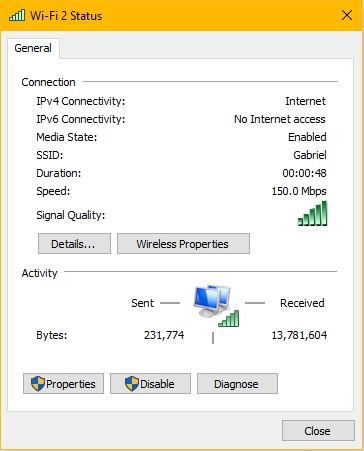 wireless-n usb adapter speed test