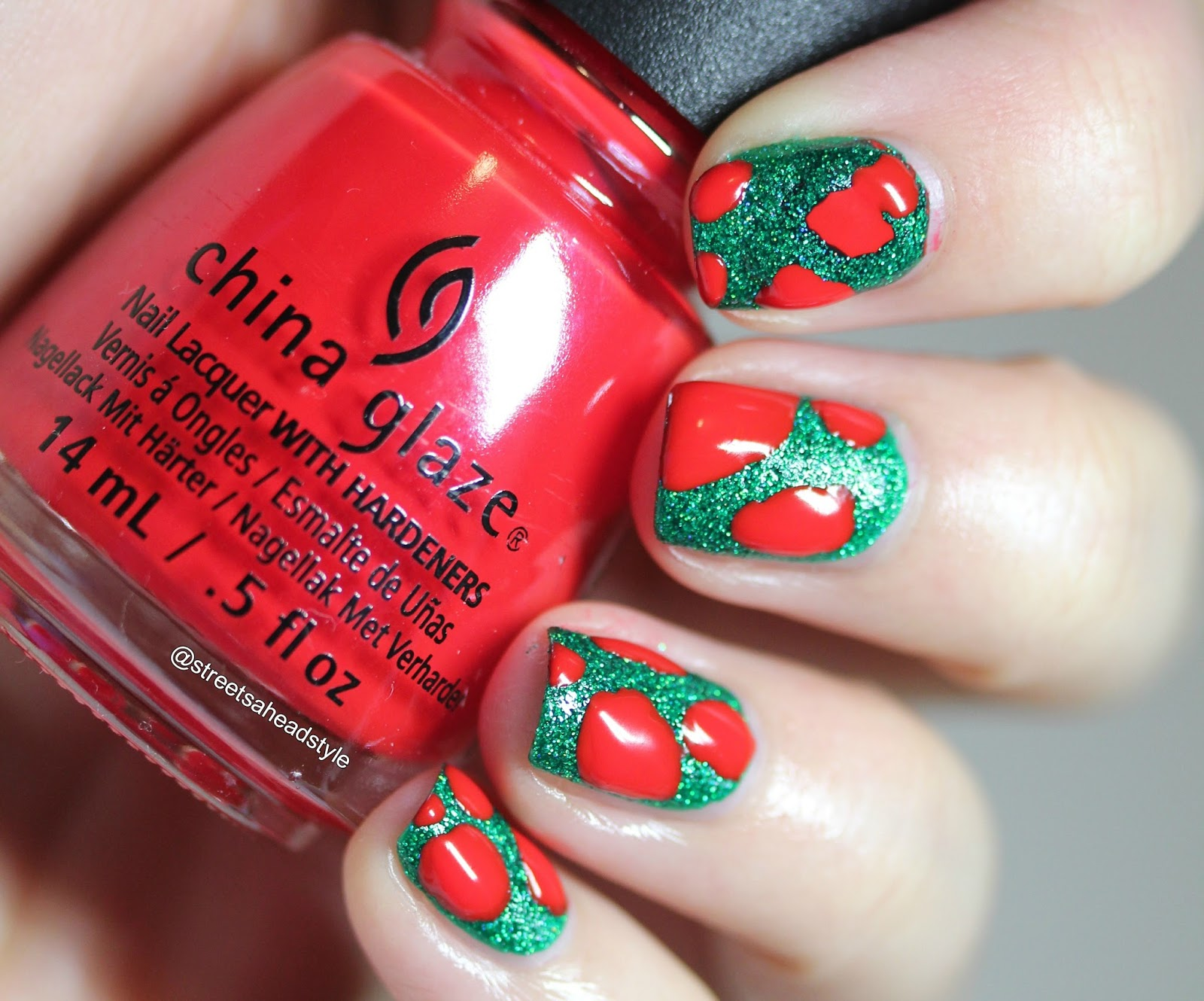 Nail Polish Canada Holiday Art Challenge