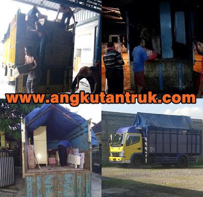 Angkutan Barang Truk di Depok