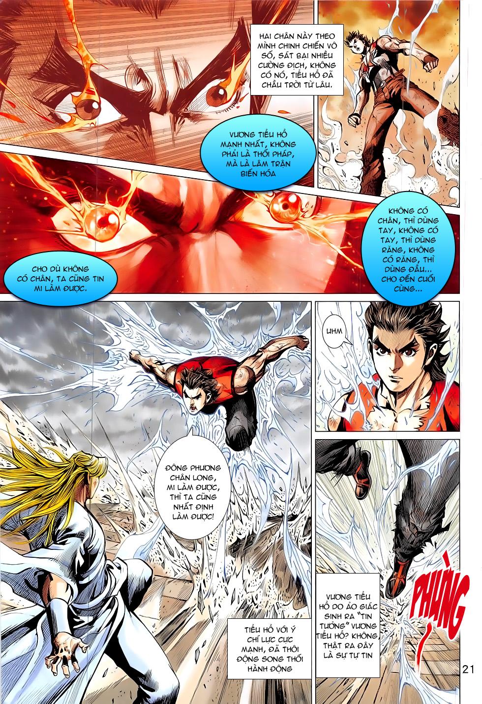 Đông Phương Chân Long chap 65 - Trang 21