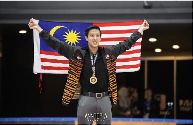 【平昌冬奥】梦想工程 Dream Program 让梦想成真| 马来西亚花式溜冰男神茹自杰Julian Yee