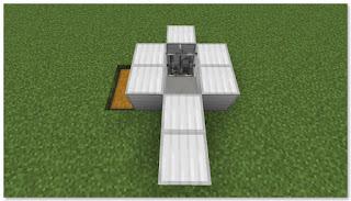 Minecraft 高速トロッコ輸送 アイテム荷降ろし駅 作り方②
