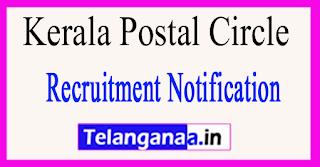 Kerala Postal Circle Recruitment Notification 2017