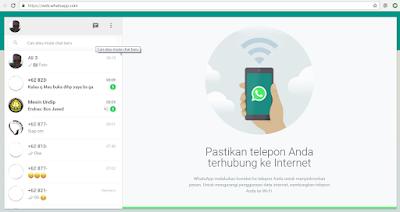 Cara Menyadap WhatsApp Tanpa Aplikasi