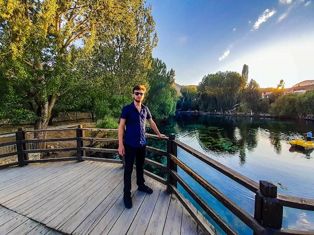 Harun İstenci Sivas'ın Gürün ilçesinde bulunan Gökpınar Gölü'nü inceliyor...