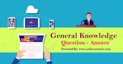 General Knowledge MCQ For SSC CGL - Set 8