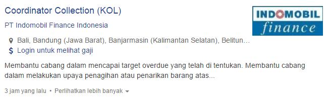 Lowongan Kerja Kabupaten Bima Terbaru 2019