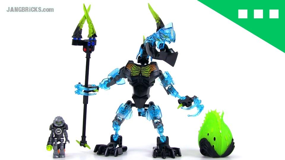 LEGO Hero Factory Crystal Beast vs Bulk set 44026 build