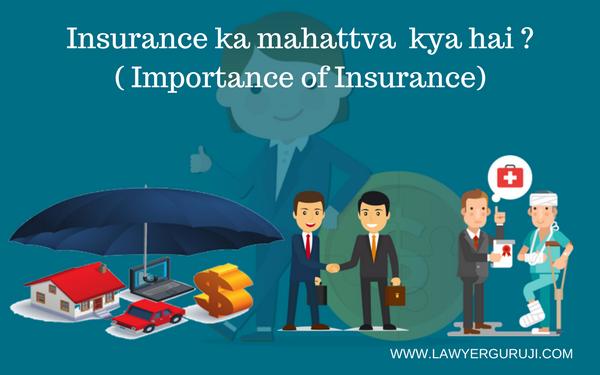 Insurance ka mahattva  kya hai ? ( Importance of Insurance)