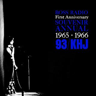Boss Radio First Anniversary Souvenir Annual