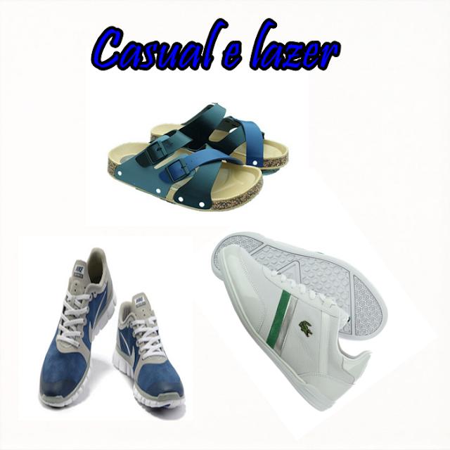 Última moda em calçados casuais