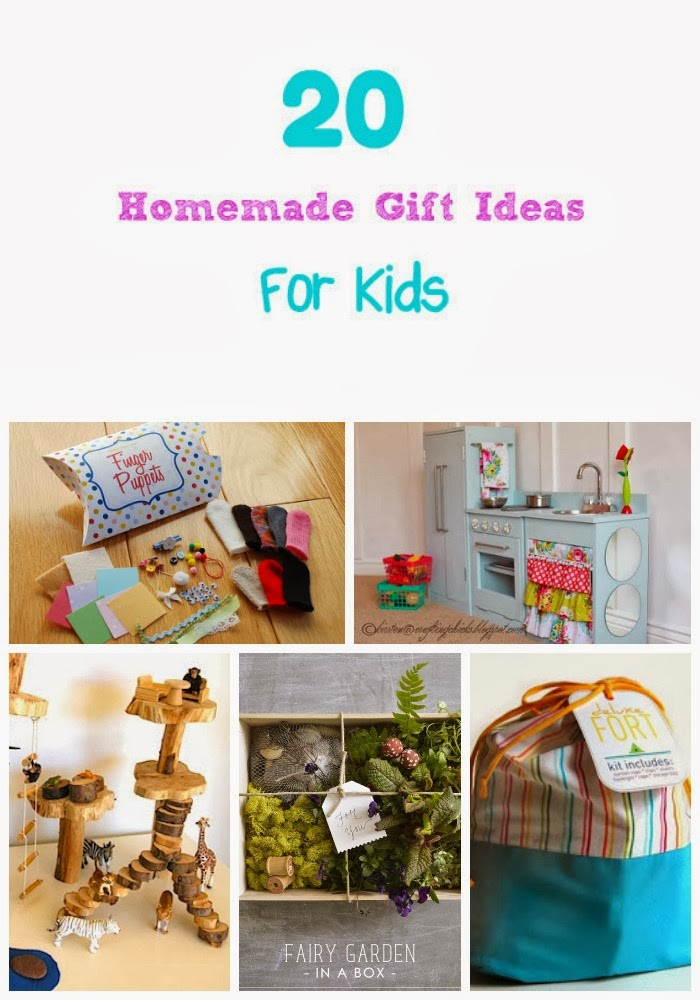 Life with 4 boys 20 homemade christmas gift ideas for kids for Christmas present homemade gift ideas