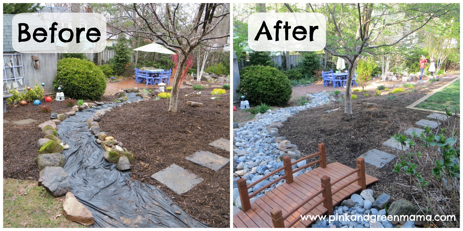 diy backyard ideas pink and green diy backyard makeover on a budget 10846