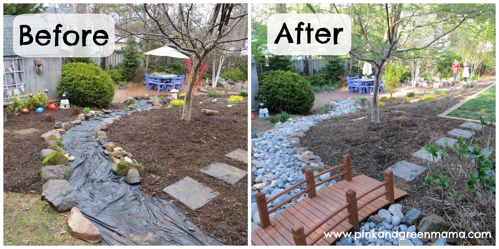 Pink and Green Mama: DIY Backyard Makeover on a Budget ... on Small Backyard Renovation Ideas id=20135