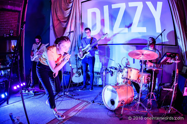 Dizzy at Ildsjel Collective for the release of Baby Teeth on August 16, 2018 Photo by John Ordean at One In Ten Words oneintenwords.com toronto indie alternative live music blog concert photography pictures photos