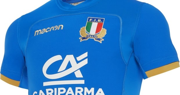 Macron lança as novas camisas da seleção de rugby da Itália - Show de  Camisas 578eaa2a7ffc7