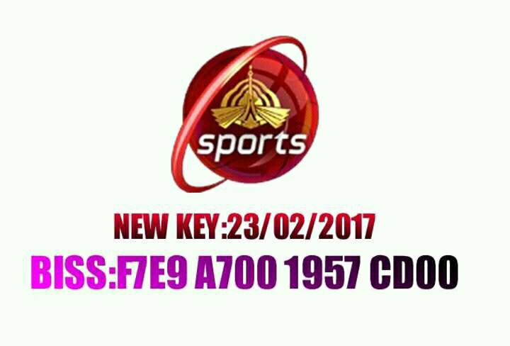 PTV Sports Latest Biss Key (23 2 2017)   Shah G Info Center