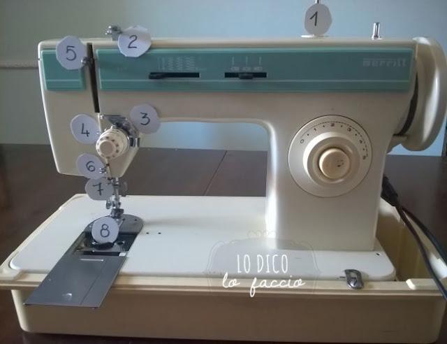 Come cucire a macchina per la prima volta [parte 1]