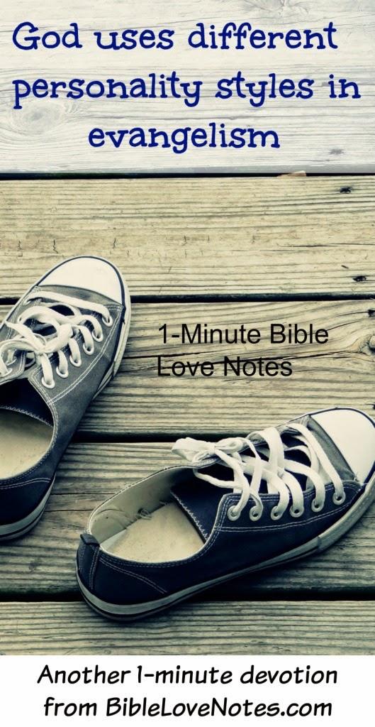 Peter style evangelists, gung ho evangelists, agressive evangelists, different ministry styles, different evangelism styles