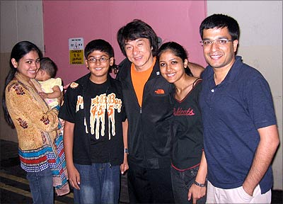 jackie chan and his family - photo #1
