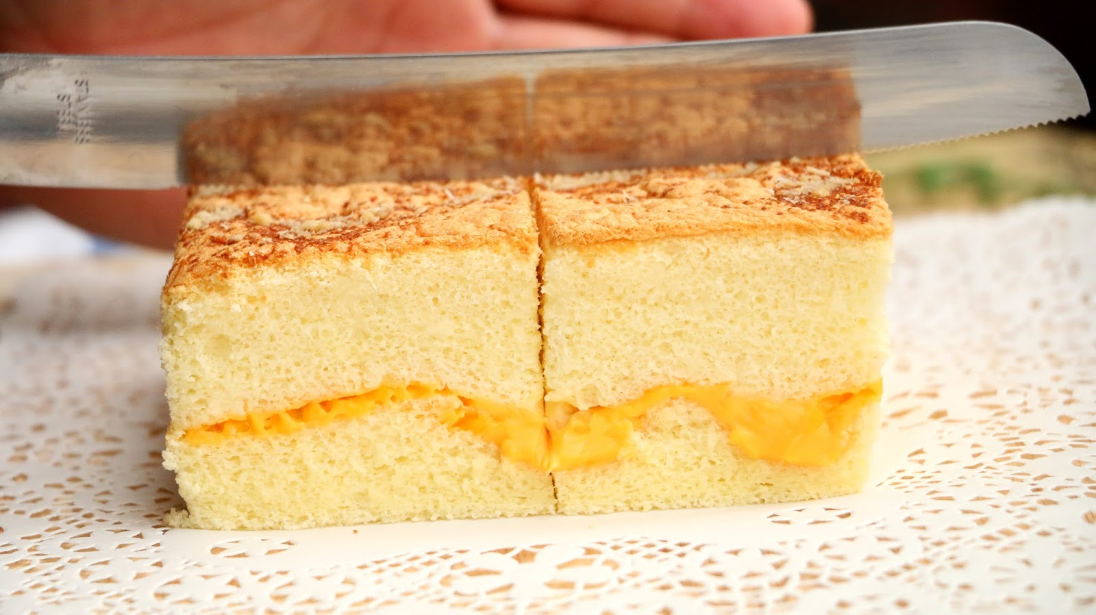 Japanese Sponge Cake Recipe Youtube: Kasutera Cake Recipe