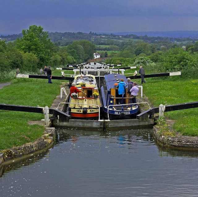 Buy original Wall Art of Caen Hill Locks