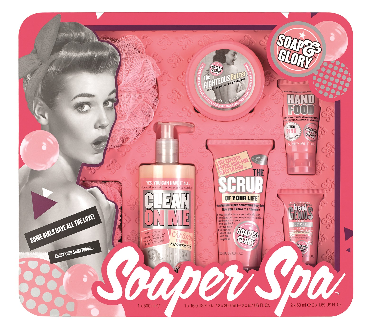 Soap & Glory Soaper Spa Set 50% Off at Walgreens | The Budget ...