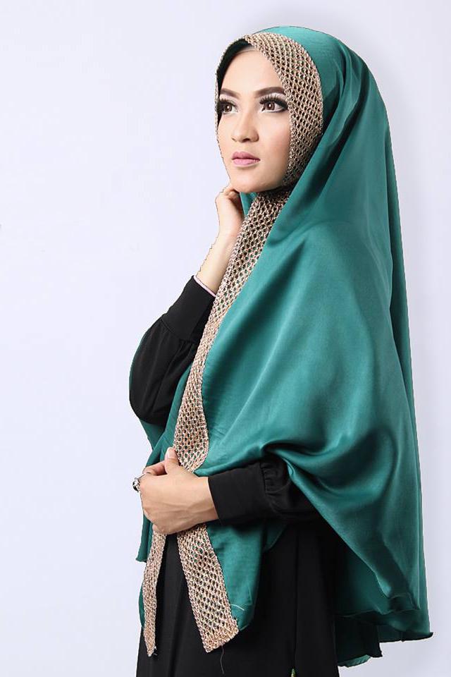 Jilbab Pashmina Turki Hijabfest