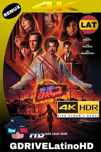 Malos Momentos En El Hotel Royale (2018) BDRemux 2160P 4K HDR Latino-Ingles MKV