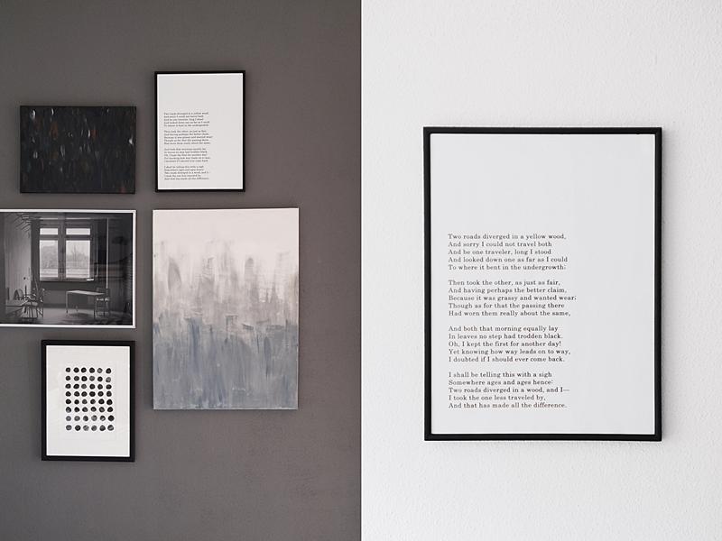 Kreative Wanddeko DIY mit Fotopostern und Bilderwand-Tutorial ganz einfach und preiswert selbst machen