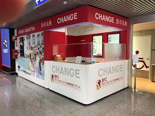 Uffici cambiavalute negli Aeroporti di Roma
