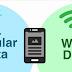 شرح كيفية زيادة سرعة التحميل بدمج بيانات الهاتف والواي فاي معاً علي اندرويد