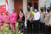 Akpol Angkatan 91 di Polda Aceh Sumbang Bedah Rumah Untuk Ibu Asiah