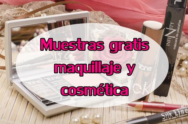 muestras gratis cosmética y maquillaje
