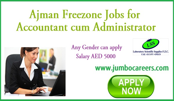Current jobs in Gulf countries, Latest job listing in Ajman,