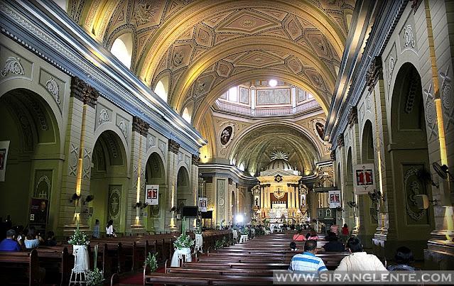 Taal Basilica Interior
