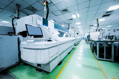 cleanroom production facility