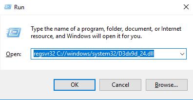 Télécharger D3dx9d_24.dll Fichier Gratuit Installer