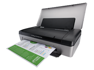 HP Officejet 100 Mobile Printer Drivers for Windows, Mac