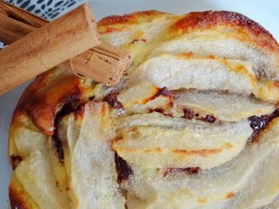 Tartelette choco poire amandine sans gluten & sans lactose (pâte brisée Biobleud)