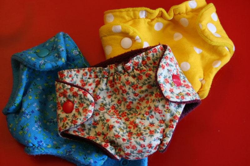 Fabuleux La Fée MoiMême: Les petites couches lavables pour les poupées PB66