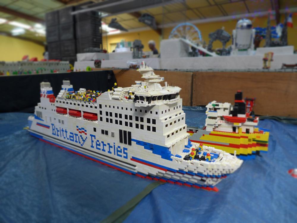bateau lego exposition