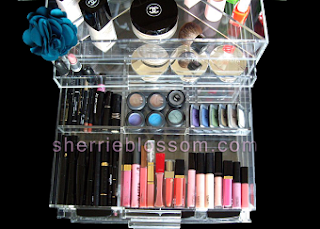 Sherrieblossom Icebox Makeup Organizer