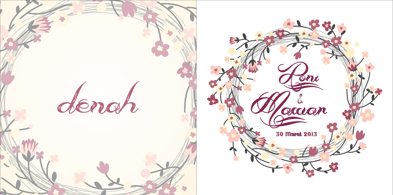 mataroni: Jasa Desain Undangan Pernikahan