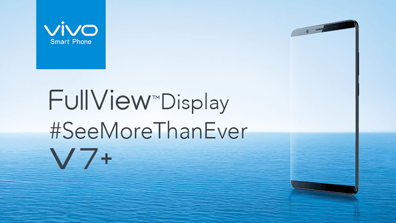 Vivo Philippines Teases V7+ With FullView Display