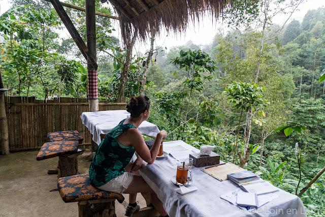 Eco Café - cascade de Munduk - Bali
